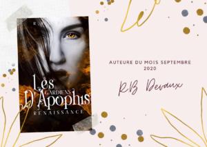 Auteur(e) du mois